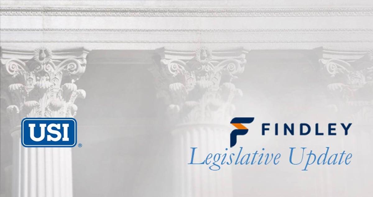 Findley-USI Legislative Update Email Masthead