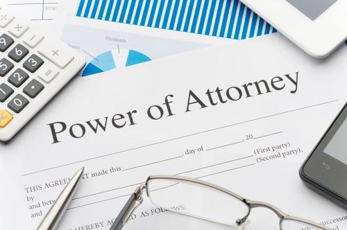 Power of Attorney iStock-528495647