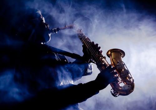 Saxophone player iStock-465732100
